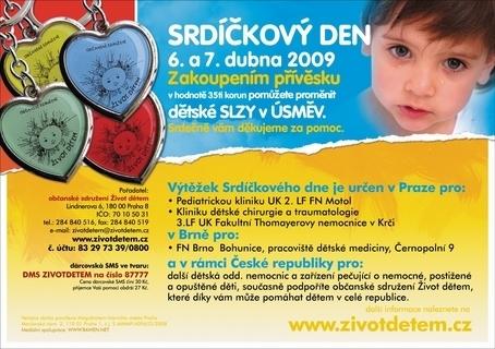"""FOTKA - Jarní """"Srdíčkový den"""" 6. – 7. dubna"""