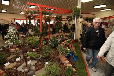 FOTKA - Duben v květinovém šapitó / Jarní etapa výstavy FLORA OLOMOUC 2009
