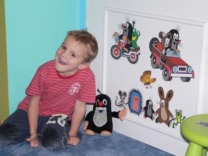 FOTKA - Odměna za vysvědčení – radost do dětského pokojíčku