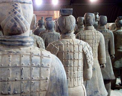 FOTKA - Světoznámá čínská terakotová armáda je k vidění v České republice!