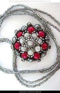 FOTKA - Šité korálky – korálkové šperky