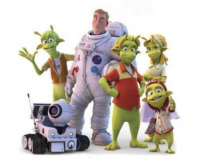 FOTKA - Cosi člověčího se blíží k jejich planetě 51… MY!