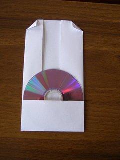 FOTKA - Rychlá výroba papírového obalu na CD bez lepení