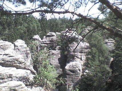 FOTKA - Prachovské skály - rozsáhlé skalní město