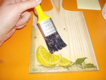 FOTKA - Vyrob si sama - Dekorativní a praktické prkénko
