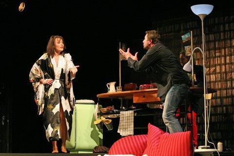 FOTKA - Činohra Frankie & Johnny v Divadle Kalich