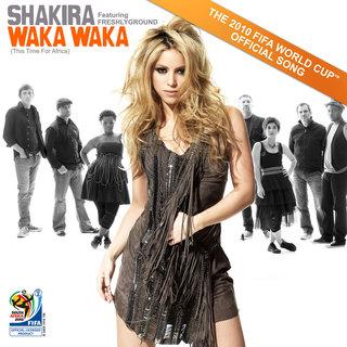FOTKA - Shakira a její nové album Waka Waka (This Time for Africa)