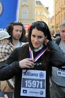 FOTKA - Lucie Váchová má za sebou maraton