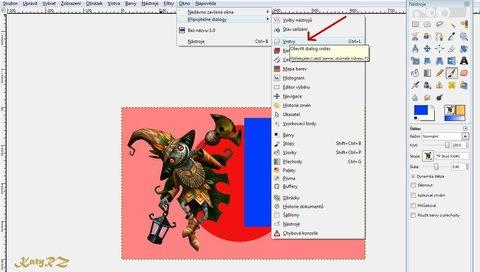 FOTKA - Práce s vrstvami v programu Gimp