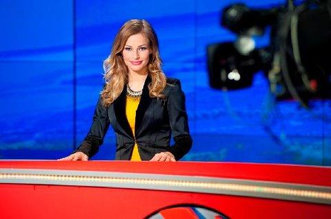 FOTKA - Petra Svoboda moderátorkou Televizních novin