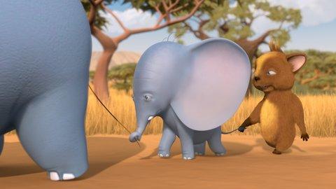 FOTKA - Nový Večerníček Nejmenší slon na světě