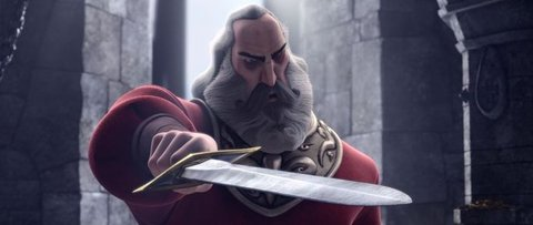 FOTKA - Animované dobrodružství Justin: Jak se stát rytířem