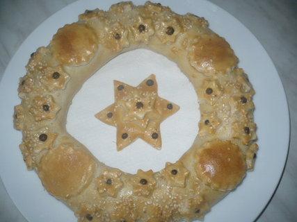 FOTKA - Vyrob si sama: Adventní věneček ze slaného těsta