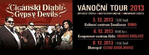 FOTKA - Fenomenální Cigánski Diabli poprvé na turné v ČR!