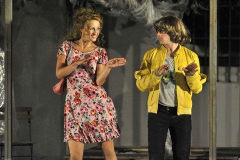 FOTKA - Letní shakespearovské slavnosti zvou na komedie Zkrocení zlé ženy a Veselé paničky windsorské