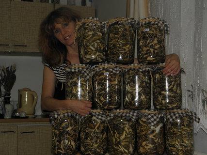 FOTKA - Miluji vůni sušících se hub