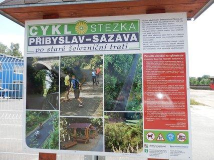 FOTKA - Kolo a já aneb cyklostezka Přibyslav-Sázava