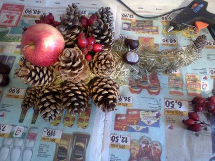 FOTKA - Vyrob si sama: Ježek - podzimní dekorace