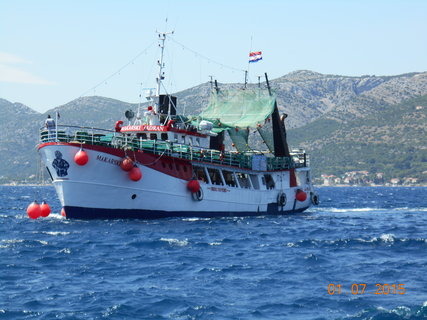 FOTKA - Plavba na ostrov Korčula