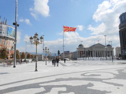 FOTKA - Seznámení s Australanem ve Skopji