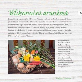 FOTKA - Květinové dekorace, jedlé dárky a inspirace ke stolování