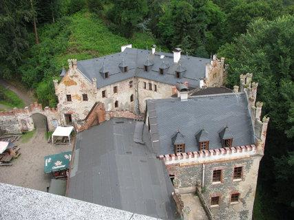 FOTKA - Horní hrad - Hauenštejn