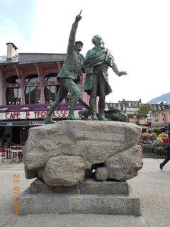 FOTKA - Chamonix - nejznámější horské středisko ve francouzské části Savojských Alp