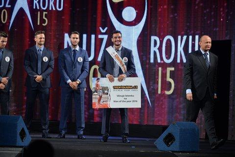 FOTKA - Loňský třetí Muž roku zabodoval na mezinárodní soutěži