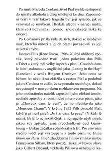 FOTKA - Édith Piaf - Najdi pro mě nový způsob smrti - Dosud nevyprávěný příběh