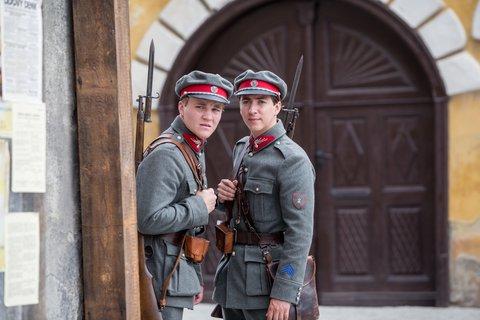 FOTKA - Četníci z Luhačovic - Udavač