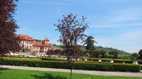 FOTKA - Procházka Trojskou zámeckou zahradou