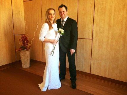 FOTKA - Jste to, co jíte: Z někdejší boubelky krásná nevěsta