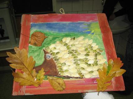 FOTKA - Vyrob si sama - Obrázek ježka