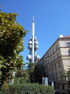 FOTKA - Žižkovská televizní věž - nejvyšší stavba v Praze