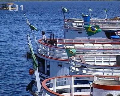FOTKA - Cestománie: Brazílie – Amazonie – Proti proudu Amazonky
