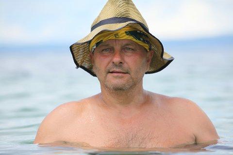 """FOTKA - Robinsonův ostrov 2018 - soutěžící """"Bizon"""" Pavel Kozák"""