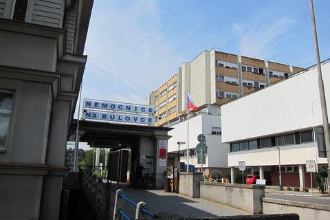FOTKA - Nemocnice Na Bulovce z jiného pohledu