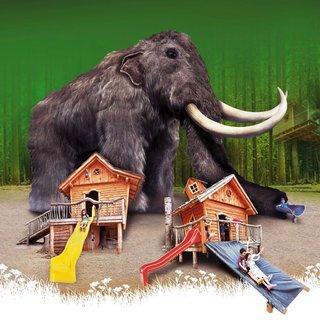 FOTKA - Potkejte se tváří v tvář obřímu mamutu. Čeká na vás na Dolní Moravě!