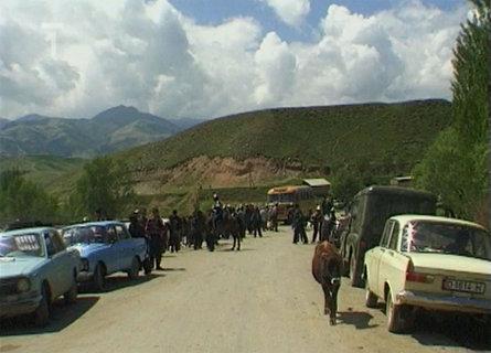 FOTKA - Cestománie: Kyrgyzstán: Mezi nebem a zemí