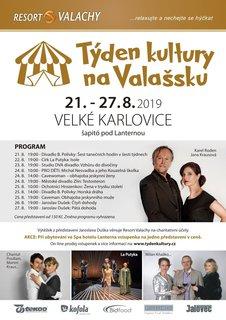 FOTKA - Velké Karlovice lákají do šapitó na Týden kultury