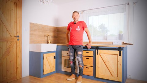 FOTKA - Libovky Pepy Libického: výroba vlastní kuchyňské linky
