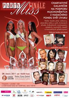 FOTKA - Charitativní galavečer na podporu hluchoněmých Party Miss 2010