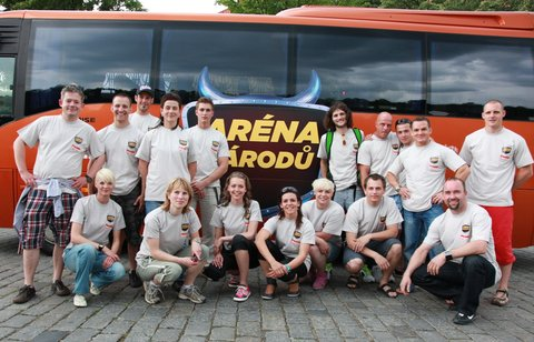 FOTKA - Češi vstoupili do Arény národů