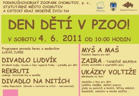 FOTKA - Užijte se Den dětí v chomutovském zooparku