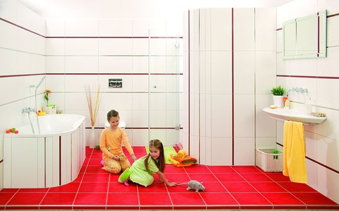 FOTKA - Koupelna, kterou si vaše děti zamilují