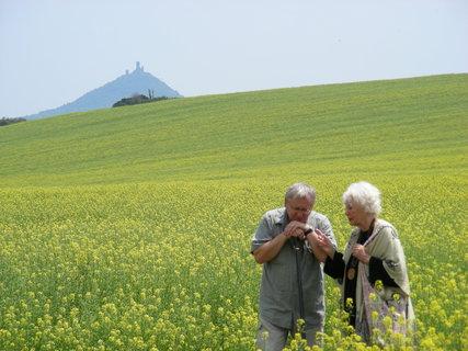 FOTKA - Magické hory - Milešovka