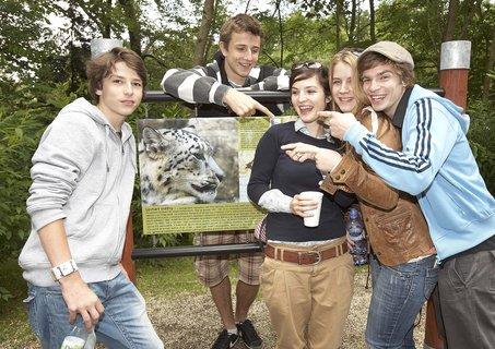 FOTKA - Levhartí dvojčata pokřtily hvězdy seriálu Ulice!