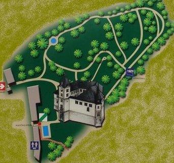 FOTKA - Hrubý Rohozec – zámek nad Jizerou obklopený anglickým parkem
