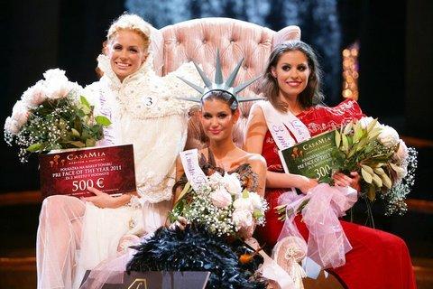 FOTKA - Miss Lucie Smatanová vyhrála mezinárodní soutěž Face of the year