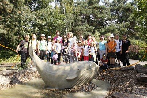 FOTKA - První velryba v Podkrušnohorském zooparku
